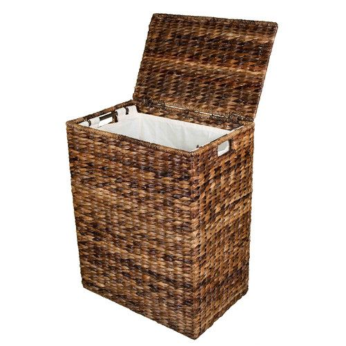 17 best ideas about laundry hamper on pinterest laundry bin wooden trash can and laundry - Rattan clothes hamper ...