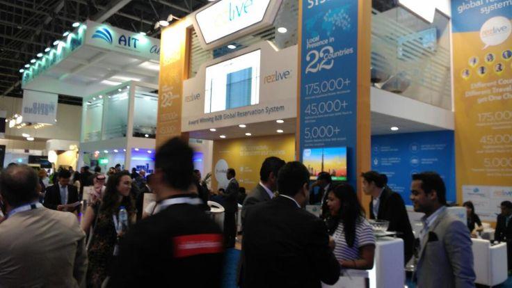 RezLive.com team had a stupendous show at ATM, Dubai