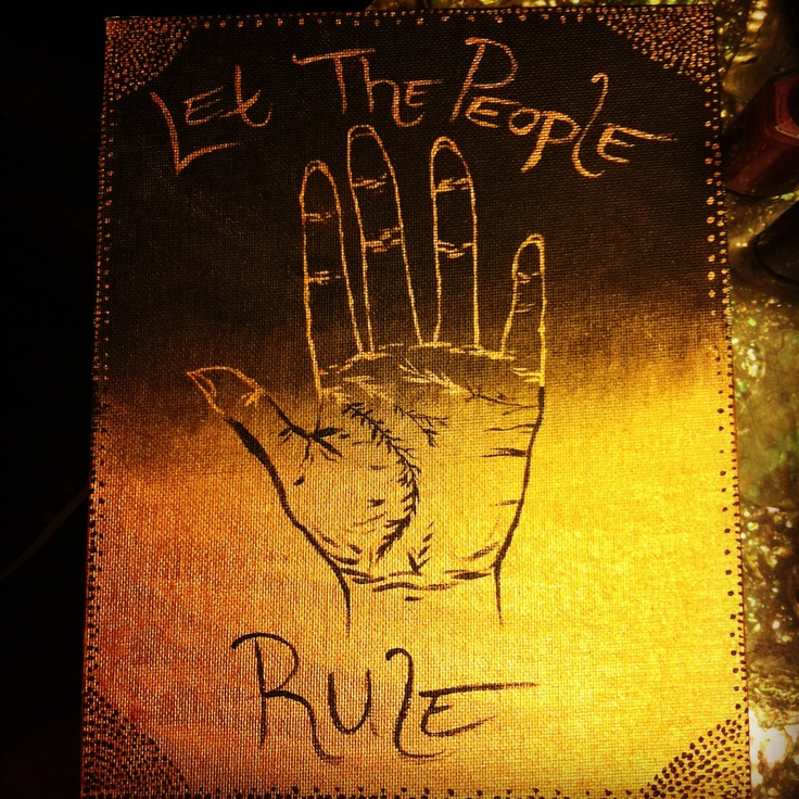 Let The People Rule - Painting