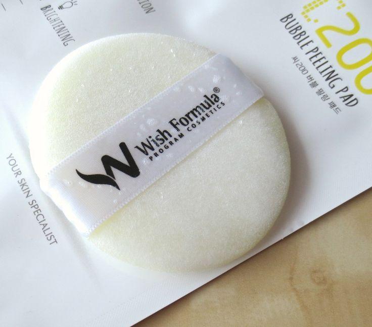Wish Formula C200 Bubble Peeling Pad - erfahrt mehr auf Sugarpeaches...loves!