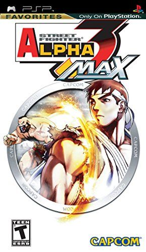 Street Fighter Alpha 3 Max - Sony PSP