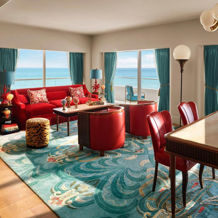Living Room Faena Miami Beach