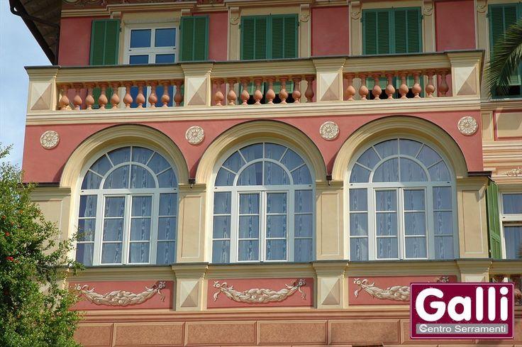 #Finestre in #PVC ad Arco #Camporosso   www.gallisrl.eu