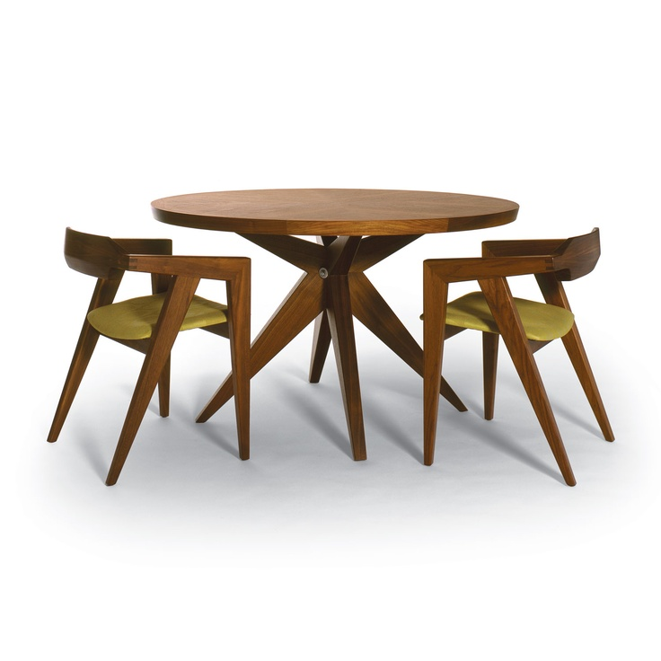 The Bonfire Dining Table Is Designed By Sherwood Hamill Who Co Founded  Angela Adams.