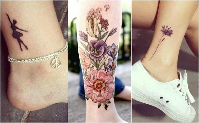 Top 10 tatuaży na nodze na sezon jesień - zima