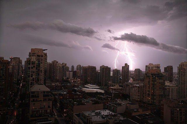 Lightning by Vida J Morkunas