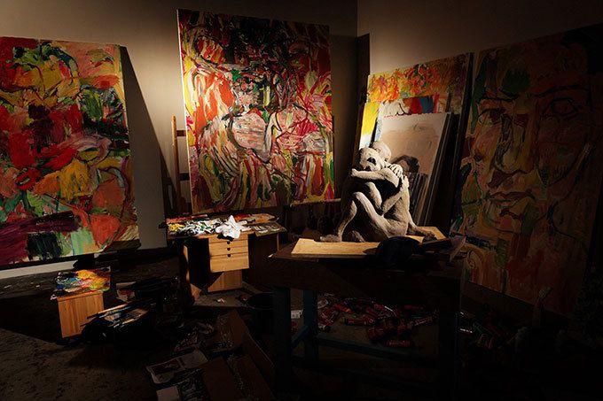 山本耀司の展覧会「画と機」東京オペラシティで開催 - 画家・朝倉優佳とコラボ    ファッションプレス