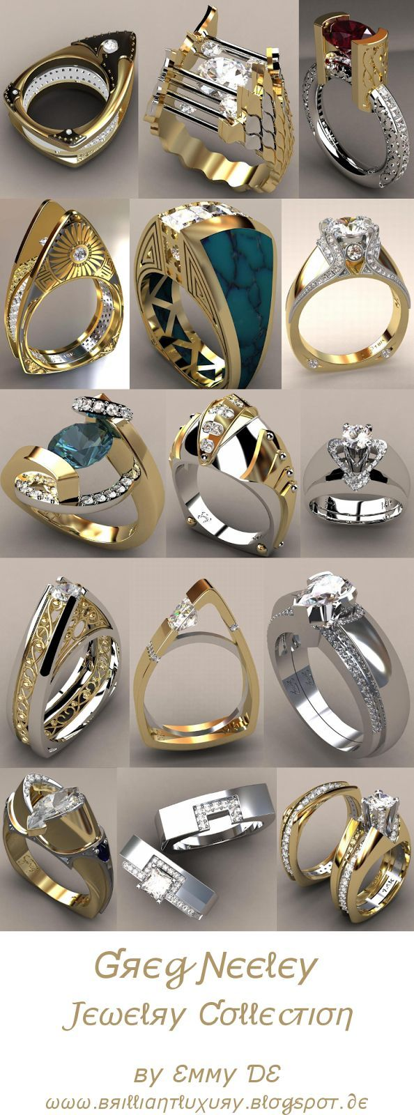 ♦Greg Neeley Jewelry Collection