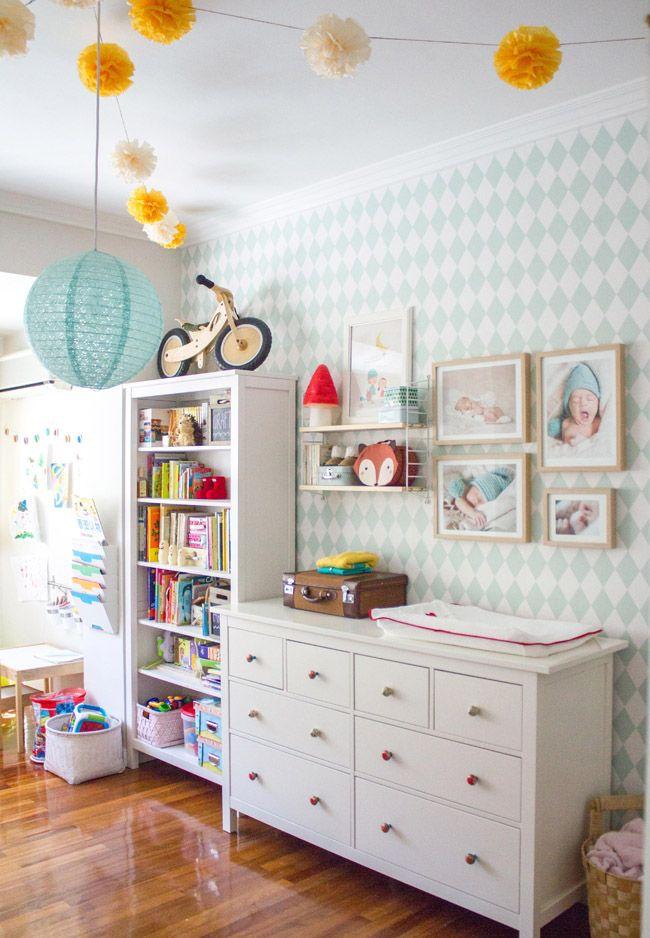 La habitaci�n de Martina y Lola (II) | http://www.conbotasdeagua.com/la-habitacion-de-martina-y-lola-ii/
