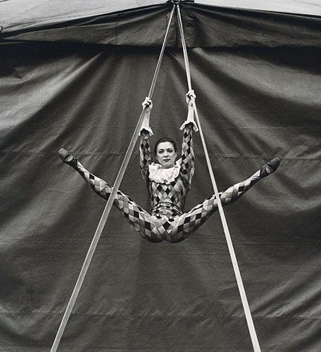 Circus acrobat. Photo: Andrew Shaylor