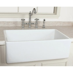 bella casa 30 x 18 fireclay kitchen sink 55 best plumbing   farm sinks images on pinterest   bowls kitchen      rh   pinterest com