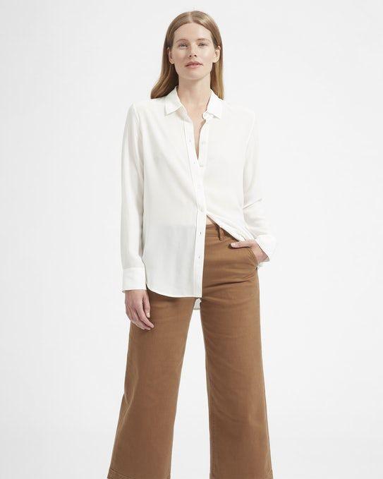 The Relaxed Silk Shirt - Everlane