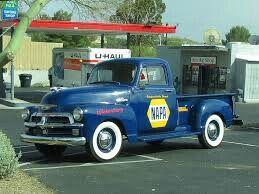 Napa Auto Parts - Vintage Deliver Truck