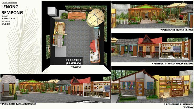 Lenong rumpi (trans7) #portfolio #arsitektur #design #architecture