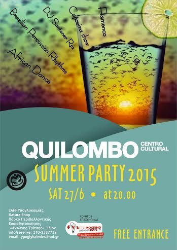 afisa party Quilombo