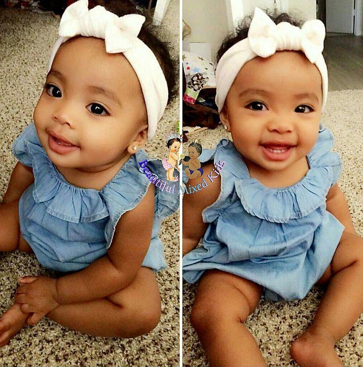 Kyra - 11 Months • African American, Guamanian & Filipino ❤