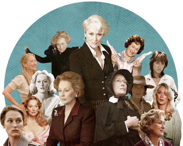 Every Meryl Streep Performance, Ranked From Worst To Best - I've seen a handful of these, but nowhere near all of them.