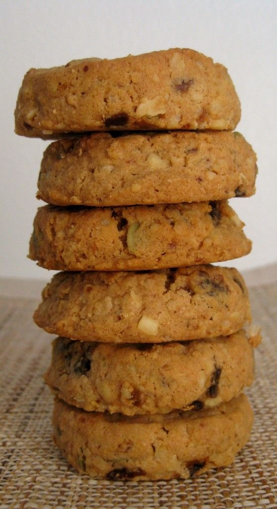 Single Serving (gluten free) Breakfast Cookies- to satisfy that cookie craving with a healthy twist! #glutenfree #cleaneating