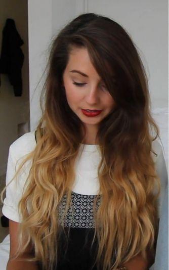 Zoe Sugg ~ Hair