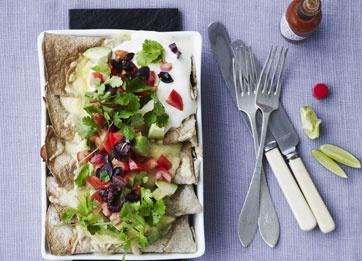 Kylling enchiladas de luxe | Louisa Lorang