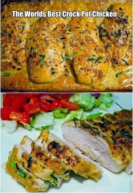 Worlds Best Recipes: The Worlds Best Crock Pot Chicken