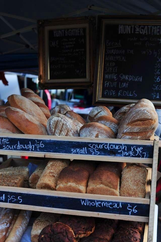 Fresh bread at the Salamanca market