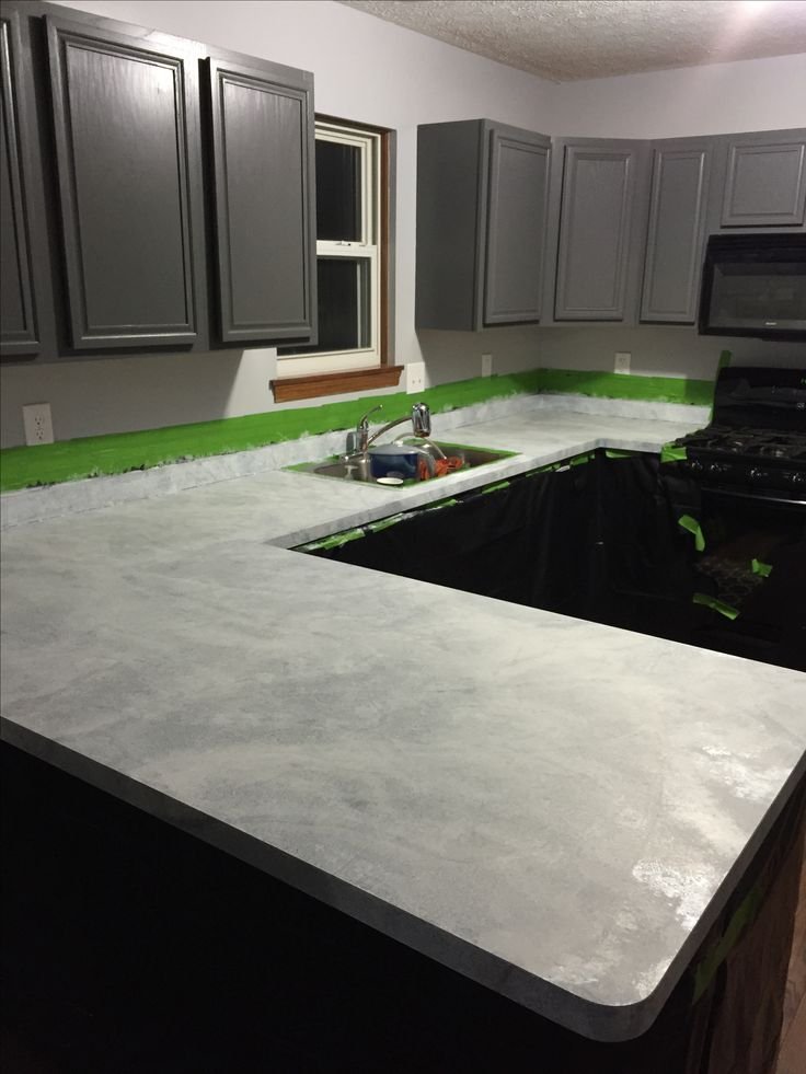 Image Result For Painted Countertop Kitsa