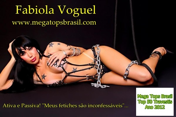 Fabiola Voguel - Brazilian Top TransexTops Transex, Brazilian Tops