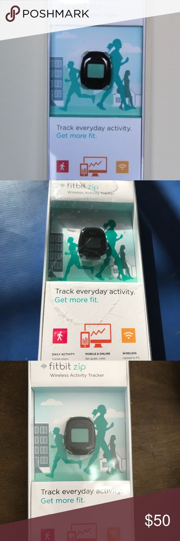 NIB 🎁🎄🎅🏻Fitbit zip wireless activity tracker NIB Great xmas present 🎁 comes w tracker clip battery wireless usb dongle battery tool free Fitbit account bundle 3 or more items from my closet to receive my 15% discount all reasonable offers accepted smoke free home Other