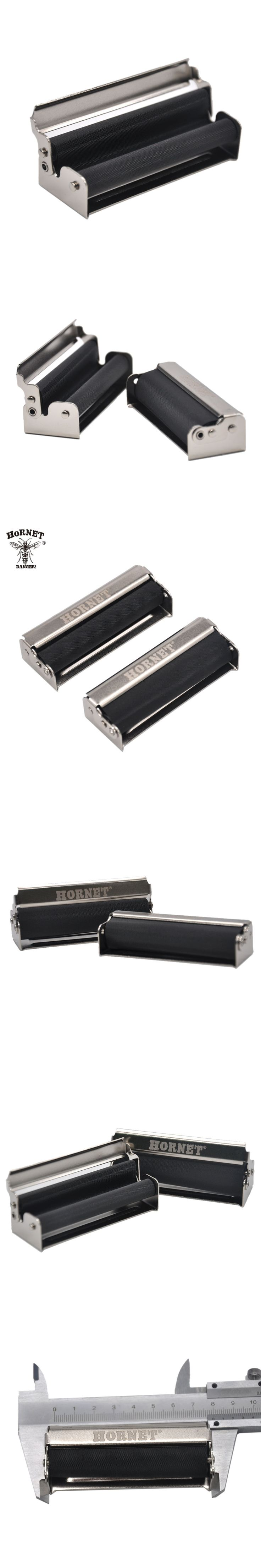 [HORNET] Unique 70/78MM Portable Hand Roller Metal Cigarette Rolling Machine Cigarette Maker Roller For  Rolling Papers