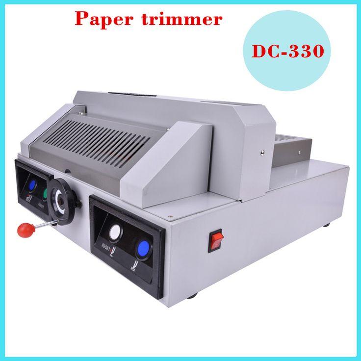 DC-330 electric paper cutting machine,330mm desktop electric paper cutter machine,book cutting machine,paper trimmer