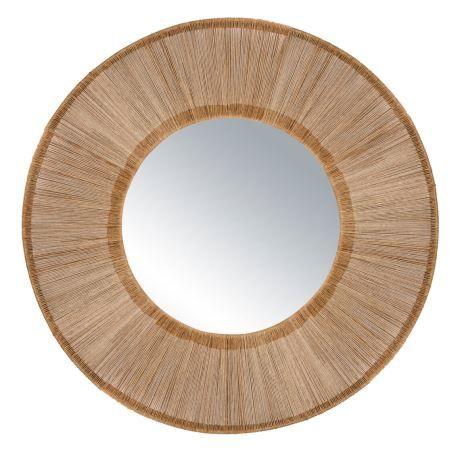 KEIGHLEY 93cm round mirror
