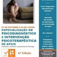 Especialização em Psicodiagnóstico e Intervenção Psicoterapêutica de Apoio in Saúde on Formação Portugal