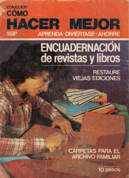 encuadernacion de libros y revistas pdf gratis manual