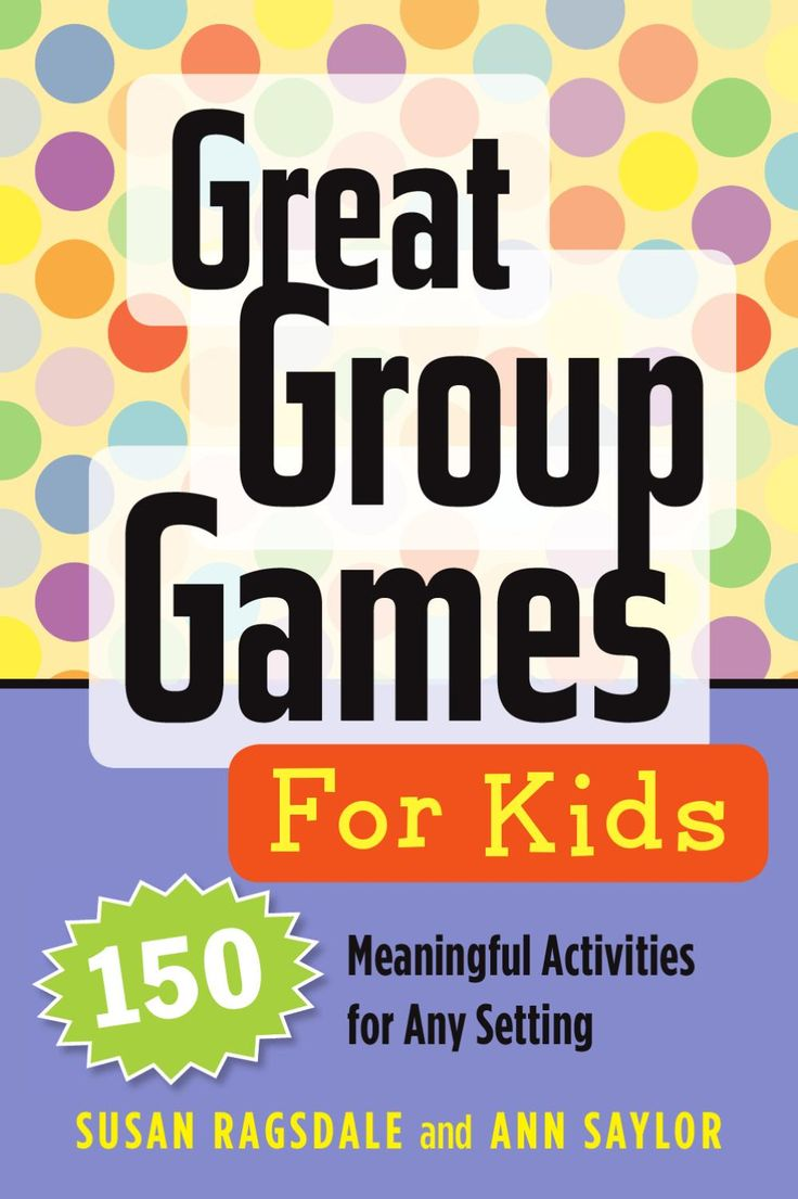 Games by Age - Group games, team games, ice breakers
