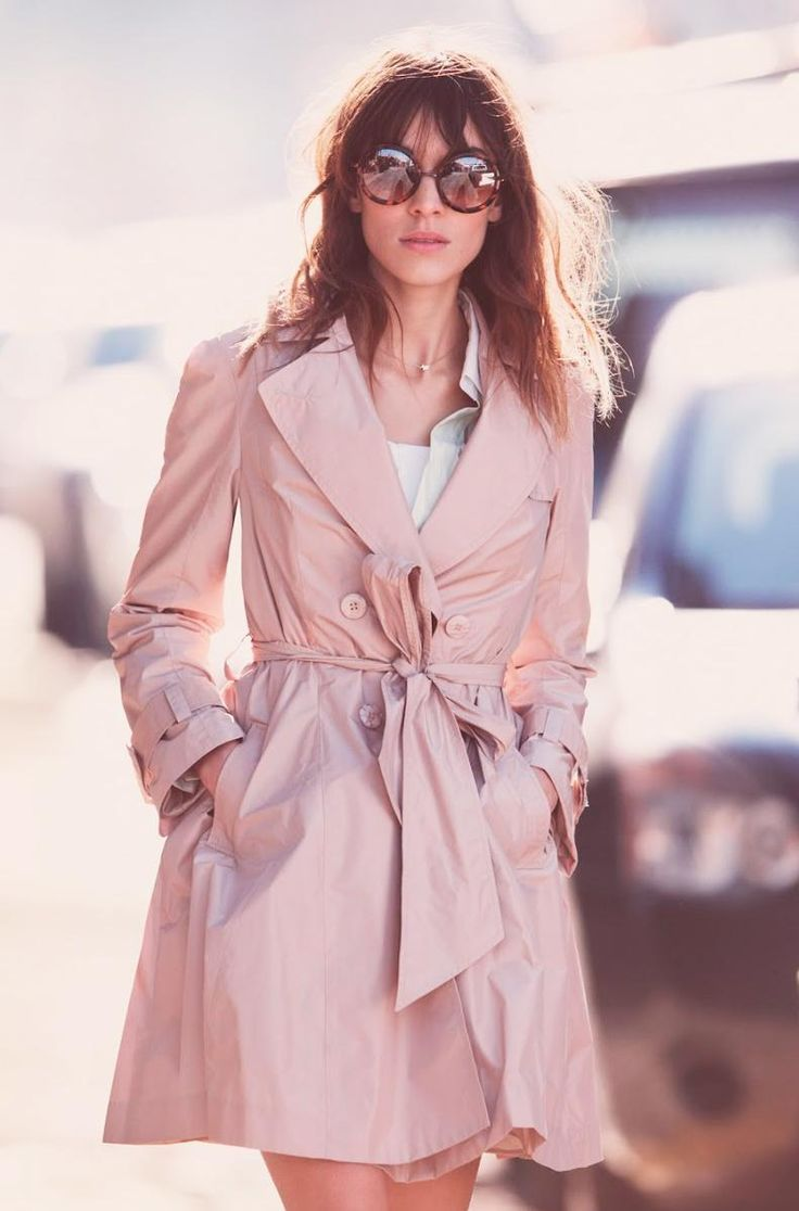 pale pastel blue coat