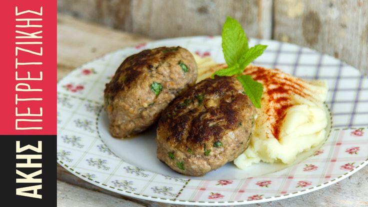 Μπιφτέκια στο φούρνο | Kitchen Lab by Akis Petretzikis