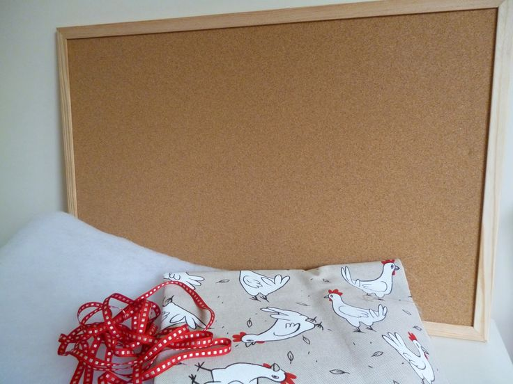 Tutorial Fabric Pin Board