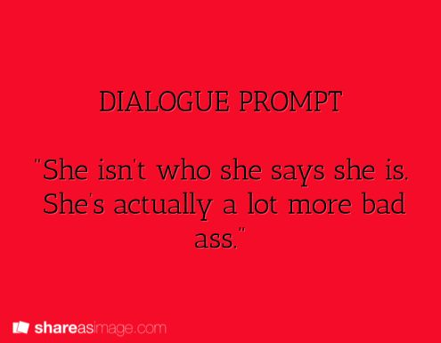 dialogue prompt [I kinda see this being Ambrose to someone or someone else about Aleria or Trixi]