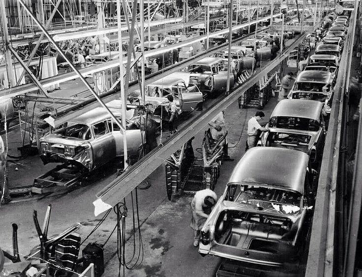 Holden EK production line
