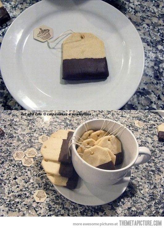 Tea bag cookies! :)