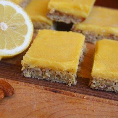 Paleo Lemon Slice and 20 Paleo Dessert Recipes - MyNaturalFamily.com #paleo #dessert #recipes