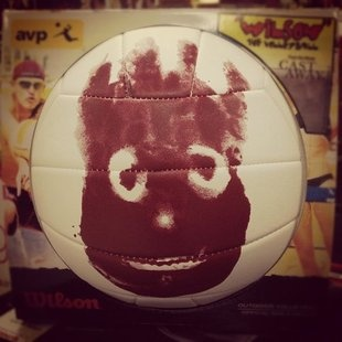 Winson the volleyball - cast away<----I love this! I saw it at dunhams