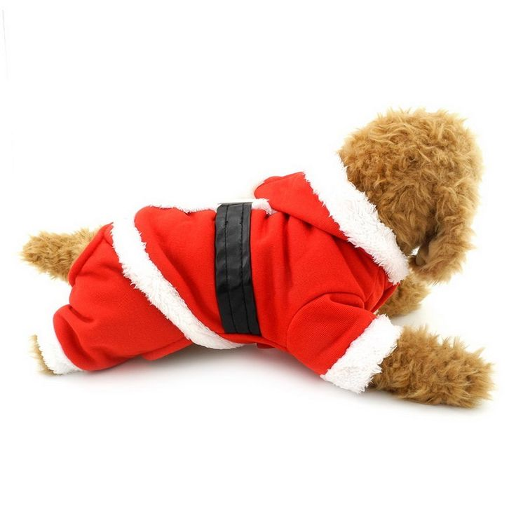 SELMAI Dog Christmas Clothes Dog Santa Suit Dog Hoodie Costume for Small Dogs >>> Click image to review more details. (This is an affiliate link and I receive a commission for the sales)