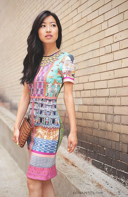 clover canyon taj mahal dress2 by PetiteAsianGirl, via Flickr