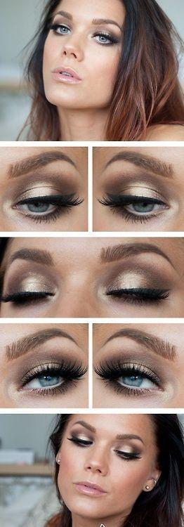 Eye Makeup #eyes #eyemakeup #bedroomeyes                                                                                                                                                     More