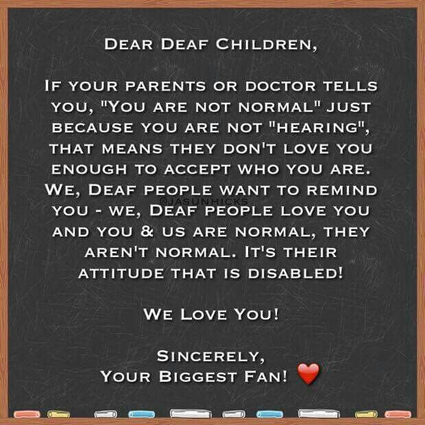 Quotes About Love: 37 Best Images About Deaf Quotes On Pinterest