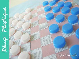 Juguetes y manualidades hechas con botellas de plástico y material reciclado ~ Olvídate de la crisis