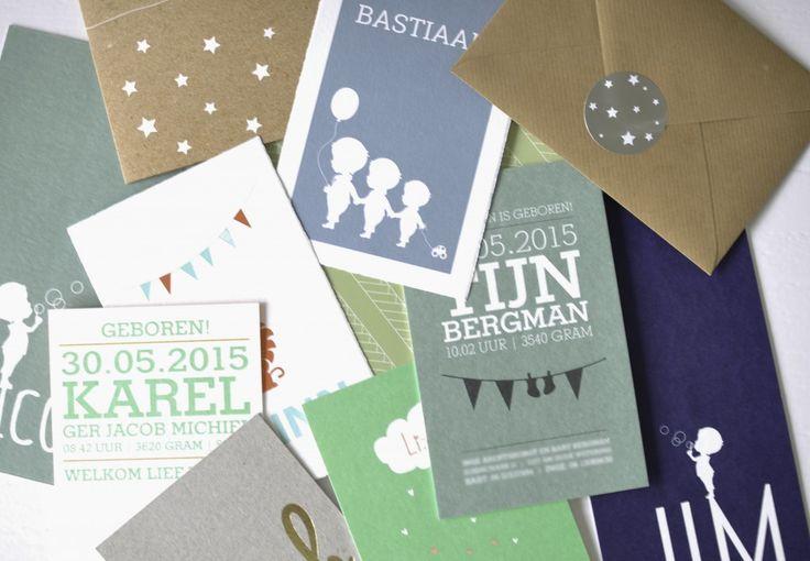 De nieuwste geboortekaartjes - Speciale geboortekaartje van Lief Leuk & Eigen