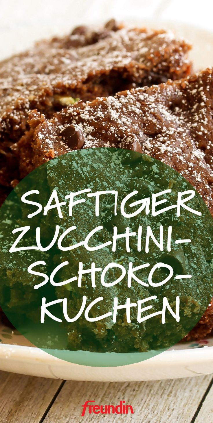Saftiger Schoko-Zucchini-Kuchen